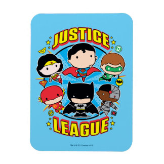 Magnet Flexible Groupe de ligue de justice de Chibi