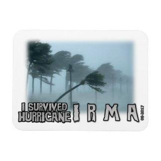 Magnet Flexible J'ai survécu à la tristesse d'Irma d'ouragan