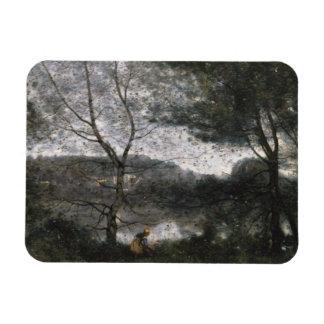 Magnet Flexible Jean-Baptiste-Camille Corot - Ville-d'Avray