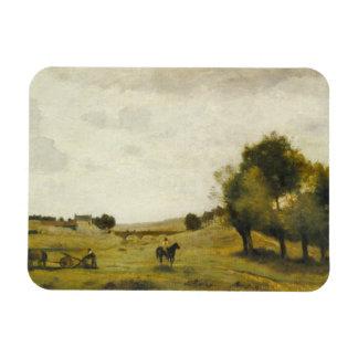 Magnet Flexible Jean-Baptiste-Camille Corot - vue près d'Epernon