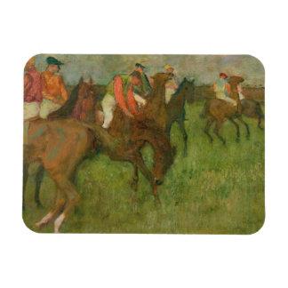 Magnet Flexible Jockeys d'Edgar Degas |, 1886-90