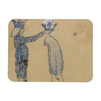 Magnet Flexible John Bauer - mettez alors le prince une couronne