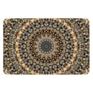 Magnet Flexible Kaléidoscope tranquille de mandala de cailloux de
