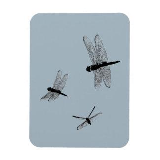 Magnet Flexible La libellule silhouette l'aimant flexible