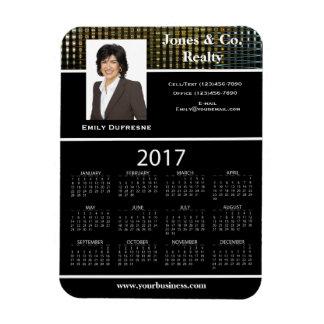 Magnet Flexible La publicité d'affaires/2017 calendrier