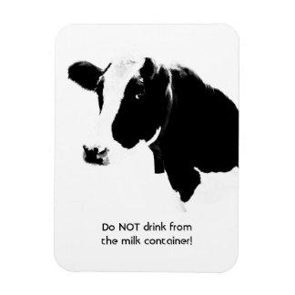 Magnet Flexible La vache indique ne boivent pas du récipient