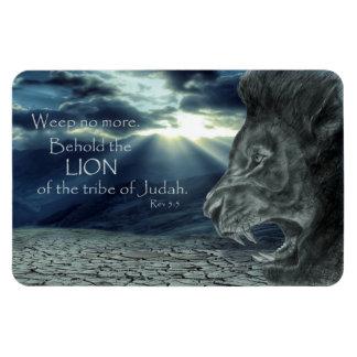 Magnet Flexible Le 5:5 de Rev voient la foi de lion