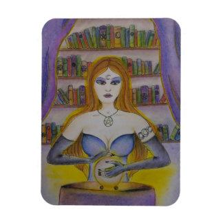 Magnet Flexible Lecteur de tarot, aimant spirituel de lecteur