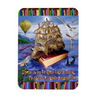 Magnet Flexible Lecteurs lunatiques de bateau de livre de citation