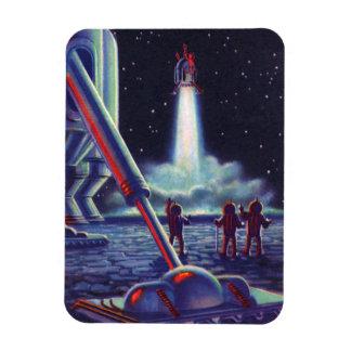 Magnet Flexible Les aliens vintages de la science-fiction saluent