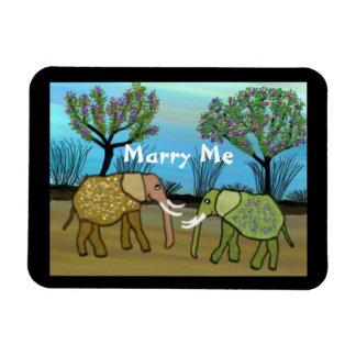 Les éléphants m'épousent aimant