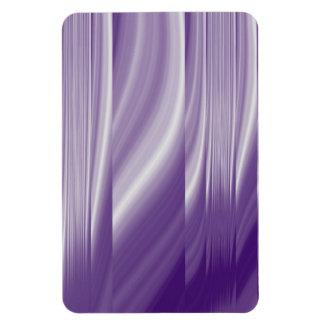 Magnet Flexible lignes lilas pourpres métalliques de motif de la