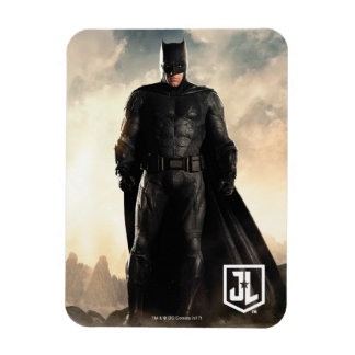 Magnet Flexible Ligue de justice | Batman sur le champ de bataille