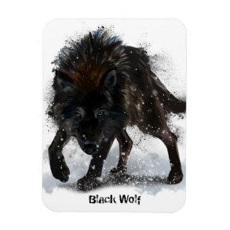 Magnet Flexible Loup noir