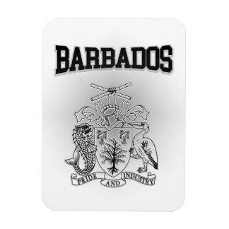 Magnet Flexible Manteau des Barbade des bras