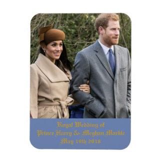 Magnet Flexible Mariage royal de prince Harry et Meghan Markle