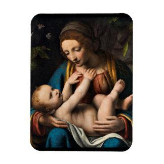 Magnet Flexible Med Kristusbarnet de Madonna