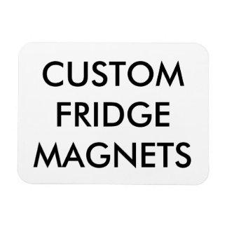 Magnet Flexible Modèle flexible de blanc d'aimant personnalisé par