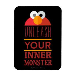 Magnet Flexible Monstre intérieur d'Elmo