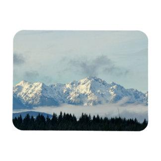 Magnet Flexible Montagnes olympiques dans l'état de Washington