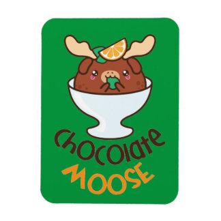 Magnet Flexible Mousse d'orignaux de chocolat