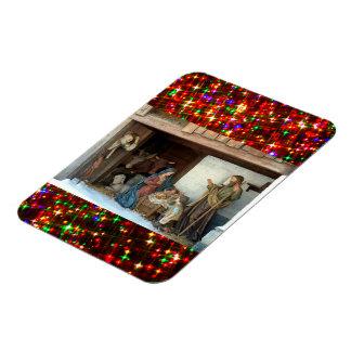Magnet Flexible Nativité de bébé Jésus, de Mary et de Joseph
