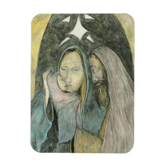 Magnet Flexible Noël religieux de nativité de Jésus Mary Joseph