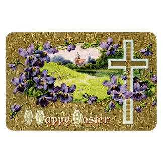 Magnet Flexible Office et violettes de Pâques