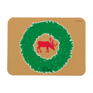 Magnet Flexible Orignaux pour les orignaux heureux de vacances de