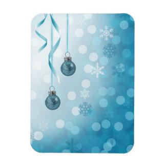Magnet Flexible Ornements bleus de Noël - aimant flexible