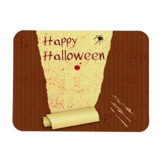 Magnet Flexible Papier peint sanglant heureux de Halloween -