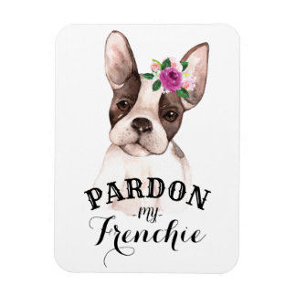 Magnet Flexible Pardonnez mon aimant de Frenchie
