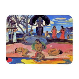 Magnet Flexible Paul Gauguin - jour des dieux - peinture de