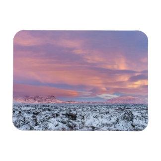 Magnet Flexible Paysage de gisement de lave de Milou, Islande