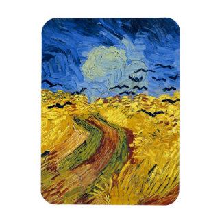 Magnet Flexible Peinture célèbre de champs de blé de Van Gogh