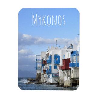 Magnet Flexible Peu de Venise, Mykonos, Grèce