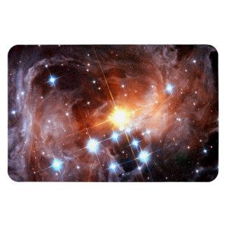 Magnet Flexible Photo supergigantesque rouge de Hubble d'étoile de