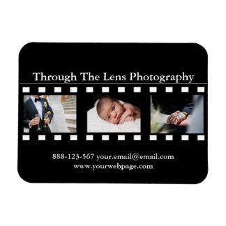 Magnet Flexible Photos de photographe de cadres de film de