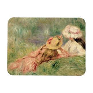 Magnet Flexible Pierre jeunes filles de Renoir un | sur la berge