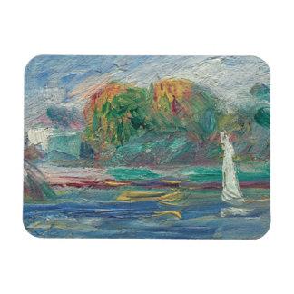 Magnet Flexible Pierre un Renoir | la rivière bleue