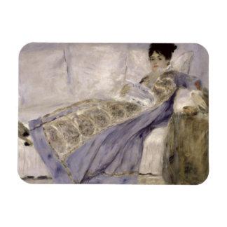 Magnet Flexible Pierre une Madame Monet de Renoir | sur un sofa