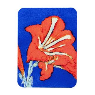 Magnet Flexible Piet Mondrian - peinture de fleur de beaux-arts
