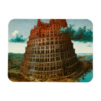 Magnet Flexible PIETER BRUEGEL - La petite tour de Babel 1563