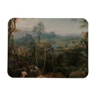 Magnet Flexible Pieter Bruegel la pie d'Aîné-Le sur la potence