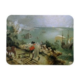 Magnet Flexible Pieter Bruegel l'aîné - automne de paysage d'Icare