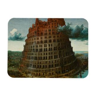 Magnet Flexible Pieter Bruegel l'aîné - la tour de Babel