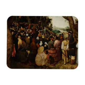 Magnet Flexible Pieter Bruegel l'aîné - le sermon de St John