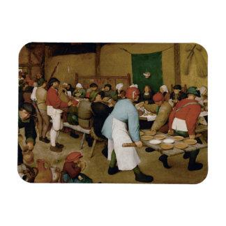 Magnet Flexible Pieter Bruegel l'aîné - mariage rural