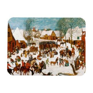Magnet Flexible Pieter Bruegel l'Aîné-Massacre des innocents