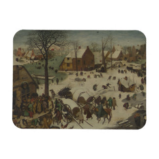 Magnet Flexible Pieter Bruegel l'aîné - numérotation à Bethlehem